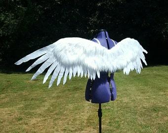 Snowy Eagle Wings