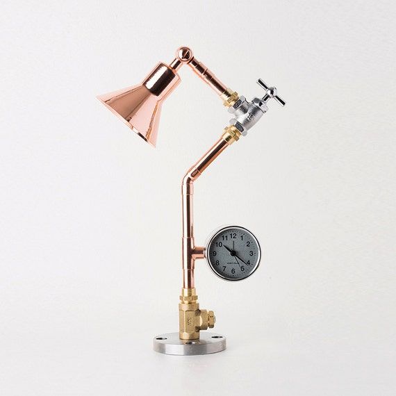 pipestory lampe tube lampe de cuivre copper lamp. Black Bedroom Furniture Sets. Home Design Ideas