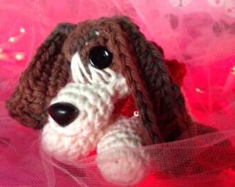Crochet Basset hound Puppy