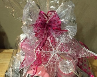 Pink Peppermint Spa Tray