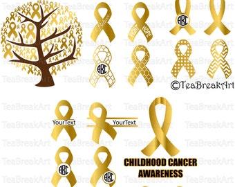 Childhood cancer Etsy