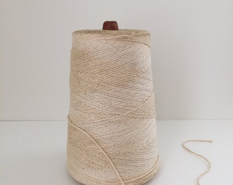 Vintage Spool of Cotton Twine / String  now on SALE 50% off!!