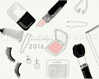 MakeUp Addict (Fashion Print)