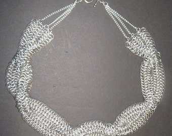 Twisted Chainmail Necklace (European 4 in 1)