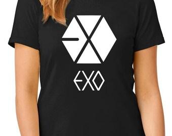 EXO t-shirt, kpop t-shirt, boyband t-shirt, TEEddictive