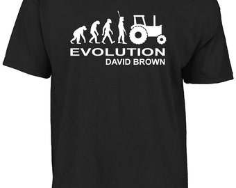 Evolution David Brown t-shirt