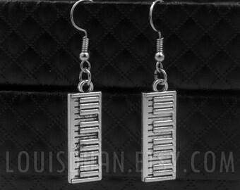 Pianist Earrings -Piano Keys Earrings -Musical instrument Earrings -Music Earrings