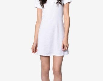 90's DEADSTOCK Polo Dress! - WHITE