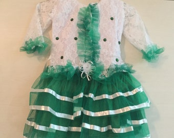 Girls Frill Net Dress 2-3 years