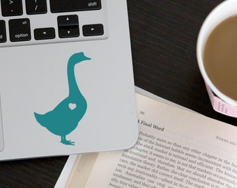 Goose Sticker Goose Decal Geese Sticker Car Laptop Vinyl Decal Sticker