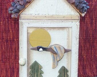 Vintage, key box, rustic box, Mountain Cabin box, jewelry box