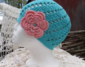 Hat for summer from cotton. By Irina