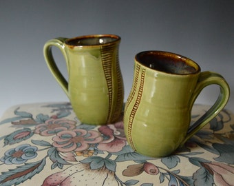 Carved Mugs