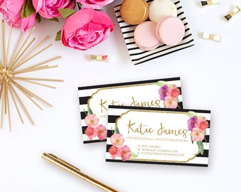Katie James - Custom Business Cards