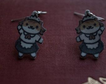 Neko Atsume Kitty Collector Sassy Fran Earrings