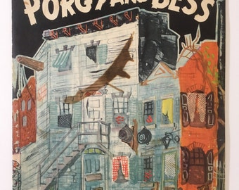 Vintage Porgy and Bess Playbill/Program - English Theater - Cab Calloway - 1950s