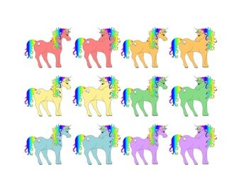 My Little Pony Clip Art - My Little Pony Clipart, Clip Art My Little Pony, Clipart My Little Pony, Unicorn Clip Art, Unicorn Clipart, PNG