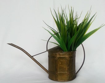 Vintage brass Watering Can,  England , Brass Watering can