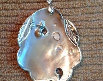 Beautiful Blister Pearl Pendant
