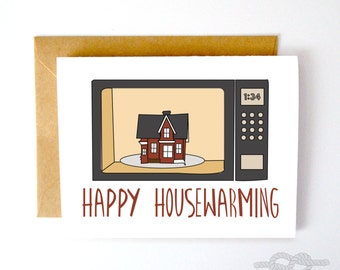Funny Housewarming Card, Funny New House Card, Home Card, New Home Card, House Warming, Housewarming Party, New House Card, Moving Card