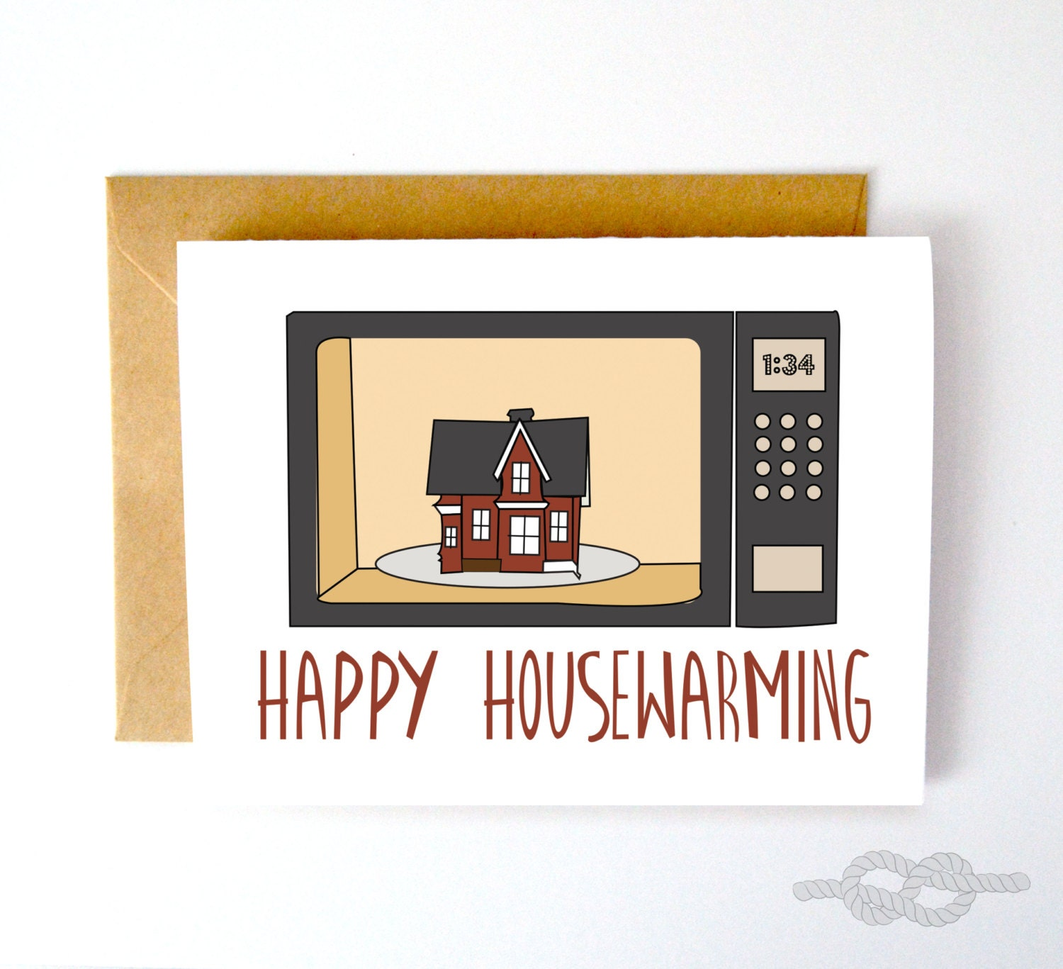 Funny Housewarming Card Funny New House Card Home Card New