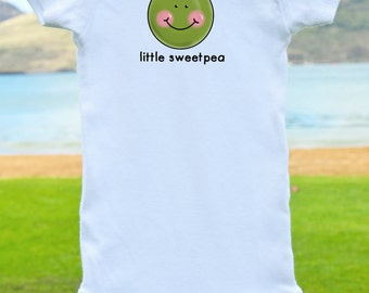 Little Sweet Pea Onesie