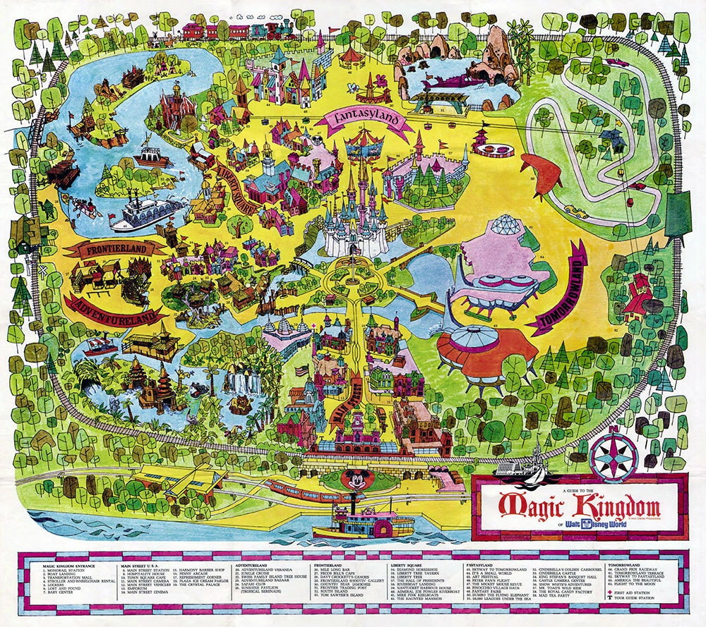 It's just an image of Smart Printable Disney Maps