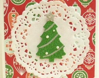 Small Christmas Tree Card