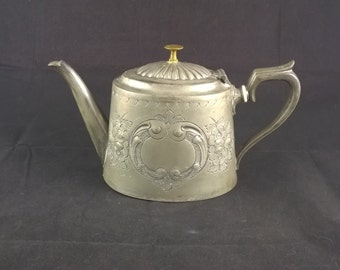 Sheffield pewter teapot marked 5199 coffeepot pewter coffepot english pewter farmhouse cottage coffeepot with lid decoratie coffeepot retro