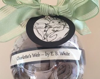 Charlotte's Web Book Ornament; E. B. White