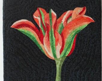 Art quilt, Tulip