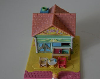 Pollypocket Beach Cafe, coffee from the beach, 1993