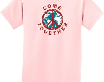 Come Together Kids Tee T-Shirt COMETOGETHER-PC61Y