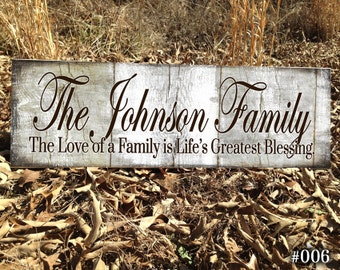 Custom Last Name Sign,LOF Family Name Sign,  Wedding Established, Personalized Sign, Family Established, Gifts For Couples,  Rustic Name