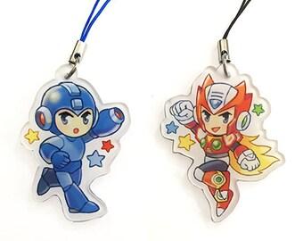 Megaman & Zero charms