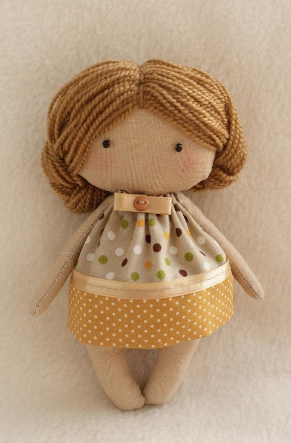 Diy Doll Making Kit Olie Doll Easy To Do Tilda Style