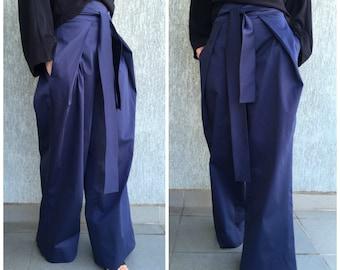 Women Wide Leg Pants / Extravagant Pants  / Loose Pants / Extravagant Pants / EXPRESS SHIPPING