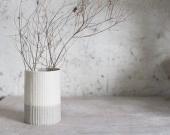 Ceramic Vase, Flower Vase, Ceramic Flower Pot, Pottery Vase, Modern Ceramic Vase, Ceramic Utensil, Pottery Gift, Ceramic utensil jar