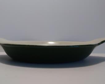 Hall China 435 14oz Round Au Gratin Dish