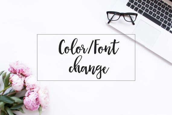 how to change the font colour on imovie