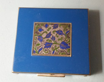 Blue Vintage Compact - Just Discounted