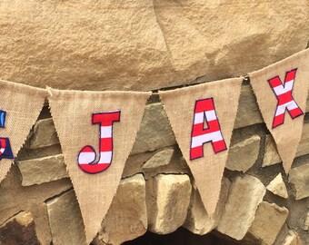 Nautical banner, Nautical nursery, Nautical invite, Nautical baby shower, Nautical birthday, nautical birthday banner, baby shower nautical