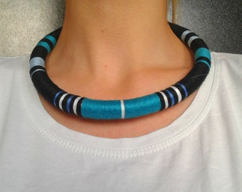 Uni Choker Necklace African Necklace Choker Necklaces Urban Choker Ethnic Necklace African Jewelry Tribal Necklace Festival Fashion For Her