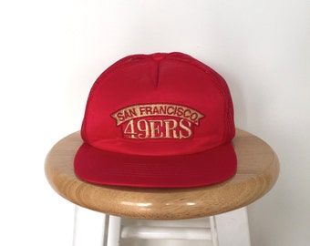 80s, 90s, SAN FRANCISCO 49ers Snackback Hat