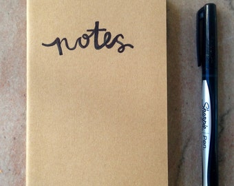 "pocket moleskine notebook ""notes"" - Haiti fundraiser"