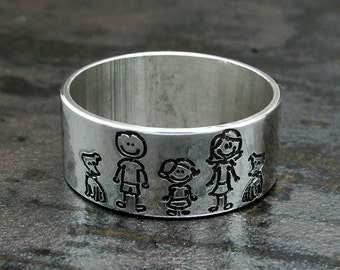 Custom Family Ring