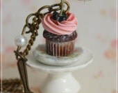 SCONTO ! Romantic Plate Cupcake : Collana5
