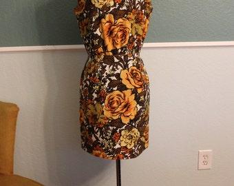1960's 1970's Mod Mini Dress