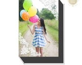 Image Box Template | Proof Box Template | Photoshop Templates for Photographers | Stripes and Polka Dots | Senior Marketing | WHCC - CIB1020