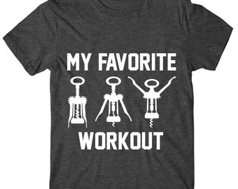 SOFT! My Favorite Workout, Womens Graphic Tee, Womens Graphic Tshirt